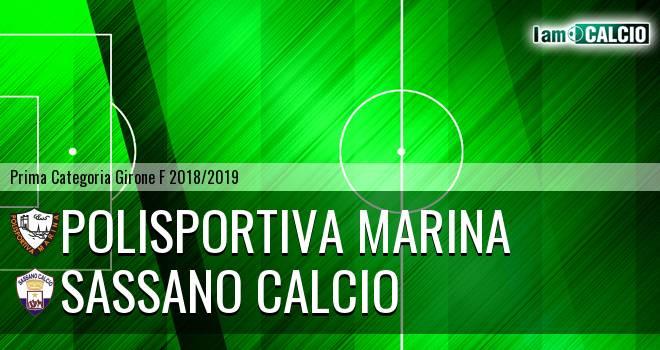 Polisportiva Marina - Sassano Calcio