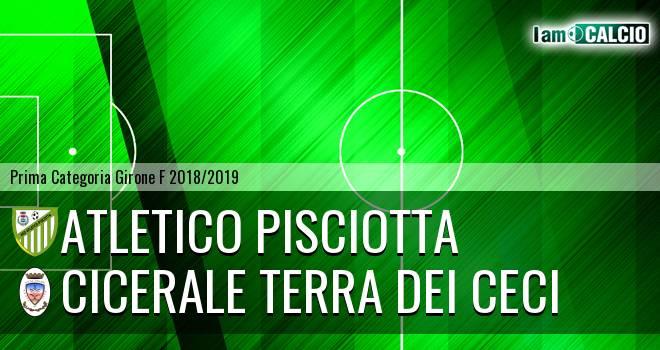 Atletico Pisciotta - Cicerale Terra dei Ceci