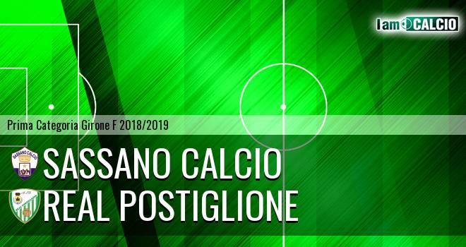 Sassano Calcio - Real Postiglione