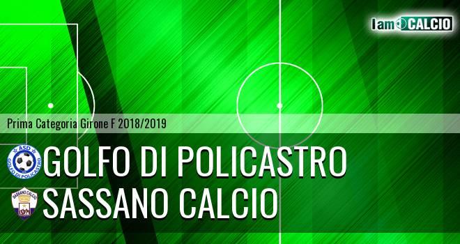 Golfo di Policastro - Sassano Calcio