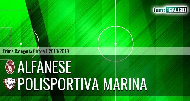 Alfanese - Polisportiva Marina