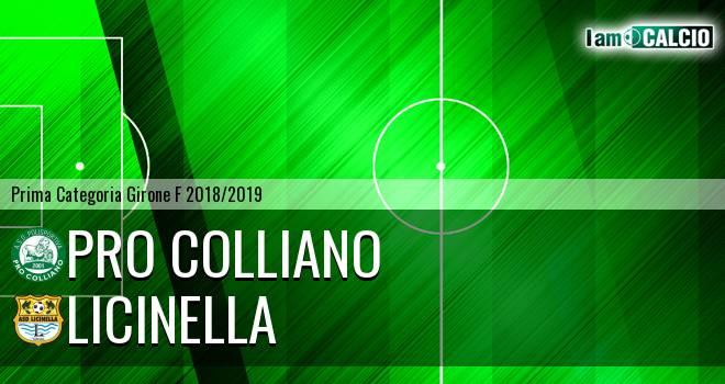 Pro Colliano - Licinella