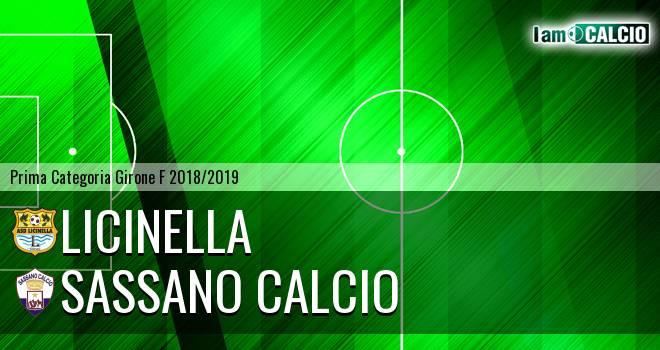 Licinella - Sassano Calcio
