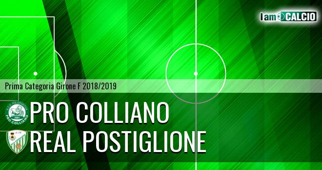 Pro Colliano - Real Postiglione