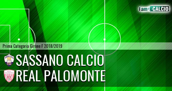 Sassano Calcio - Polisportiva Real Palomonte
