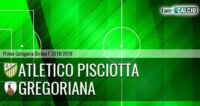 Atletico Pisciotta - Gregoriana