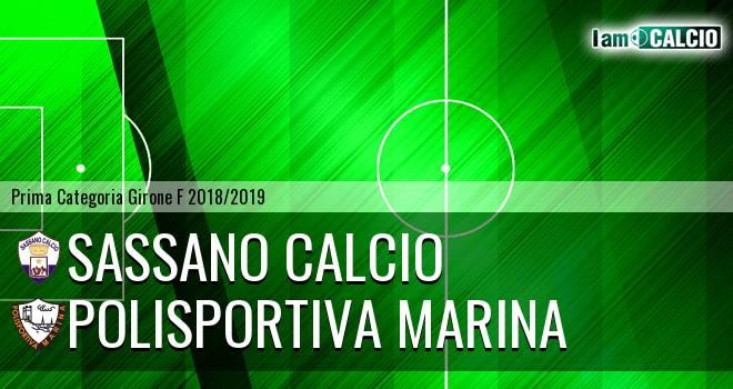 Sassano Calcio - Polisportiva Marina