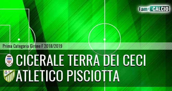Cicerale Terra dei Ceci - Atletico Pisciotta