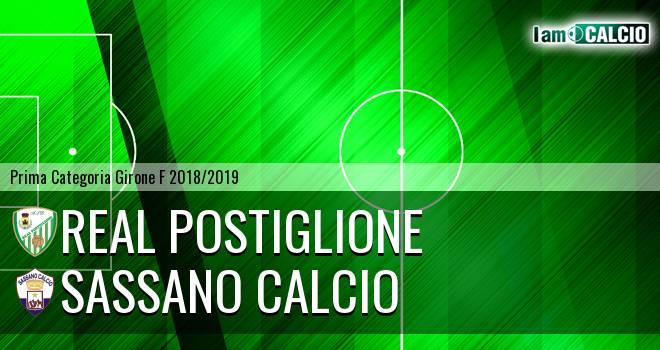 Real Postiglione - Sassano Calcio