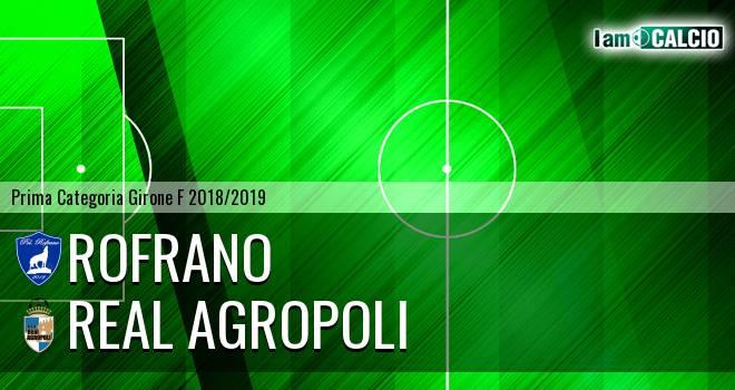 Rofrano - Real Agropoli