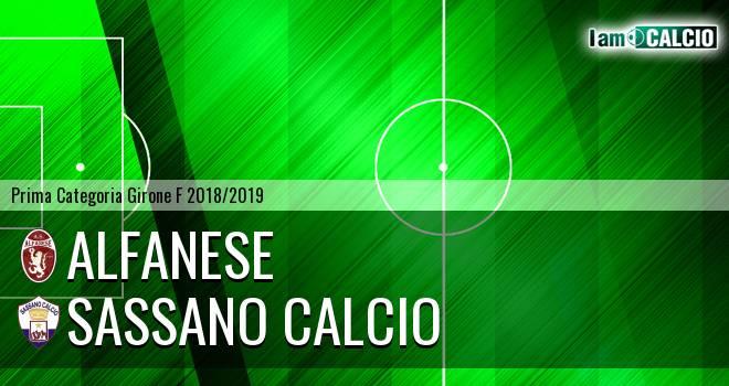 Alfanese - Sassano Calcio