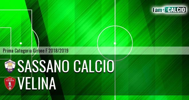 Sassano Calcio - Velina