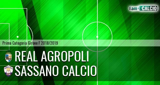 Real Agropoli - Sassano Calcio