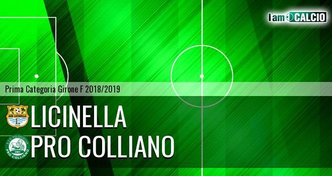 Licinella - Pro Colliano