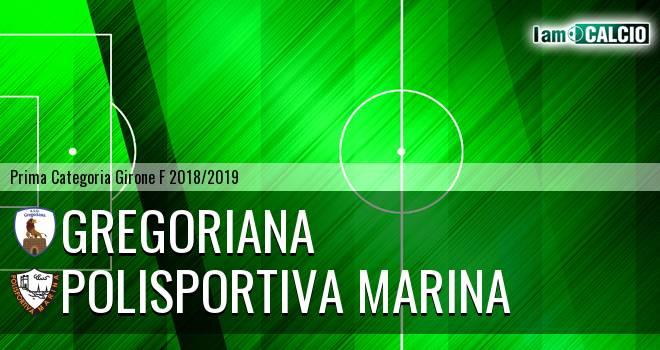 Gregoriana - Polisportiva Marina