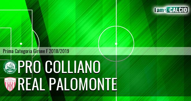 Pro Colliano - Polisportiva Real Palomonte