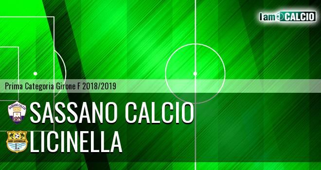 Sassano Calcio - Licinella