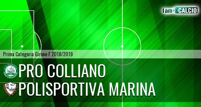 Pro Colliano - Polisportiva Marina