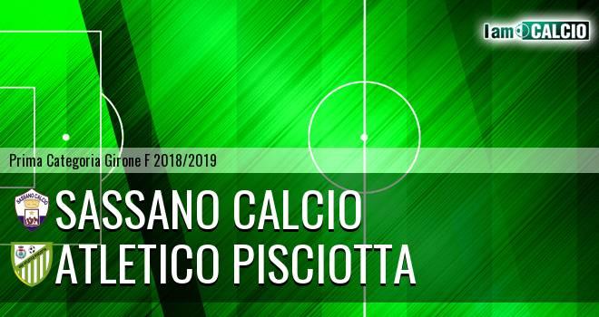 Sassano Calcio - Atletico Pisciotta