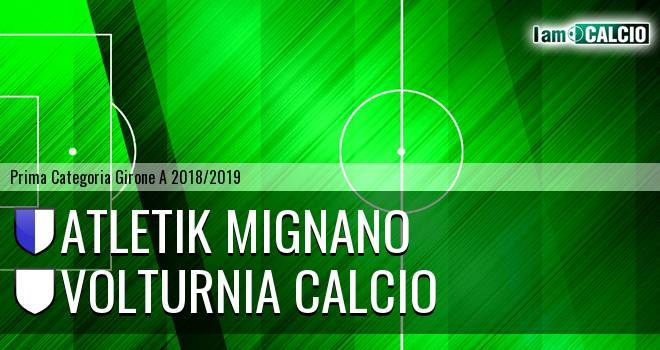 Atletik Mignano - Volturnia Calcio