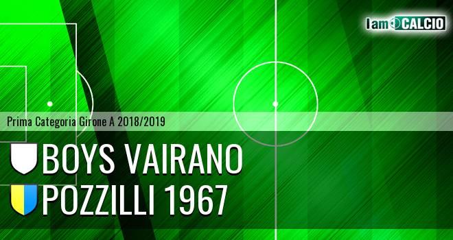 Boys Vairano - Pozzilli 1967