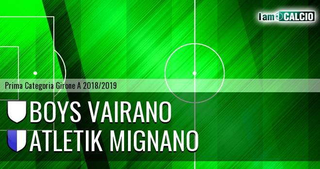 Boys Vairano - Atletik Mignano
