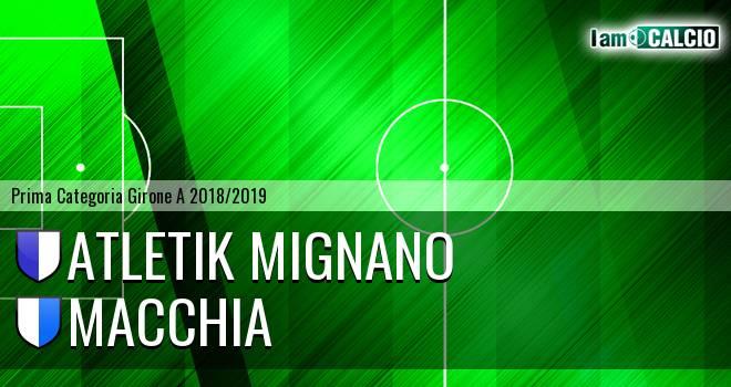 Atletik Mignano - Macchia