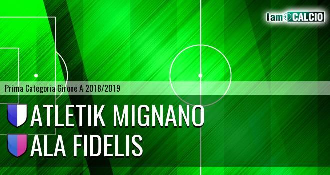 Atletik Mignano - Ala Fidelis