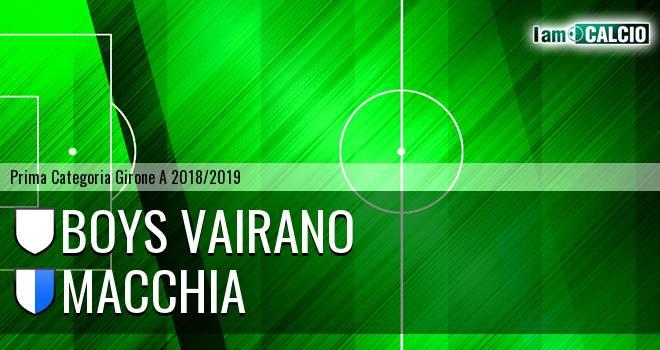 Boys Vairano - Macchia