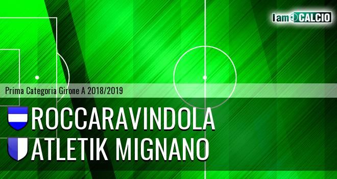 Roccaravindola - Atletik Mignano