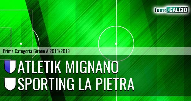 Atletik Mignano - Sporting La Pietra