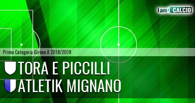 Tora e Piccilli - Atletik Mignano
