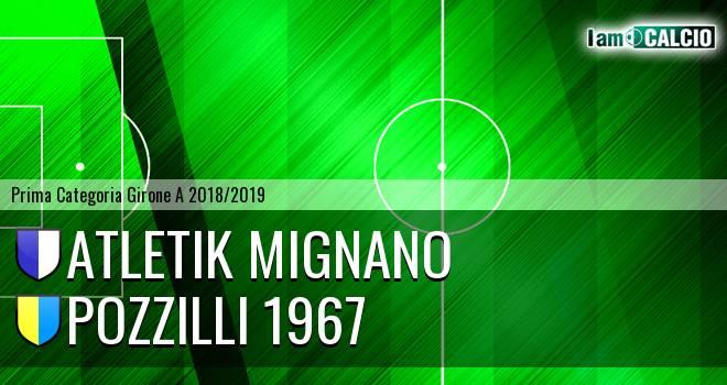 Atletik Mignano - Pozzilli 1967
