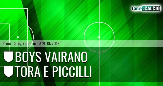 Boys Vairano - Tora e Piccilli