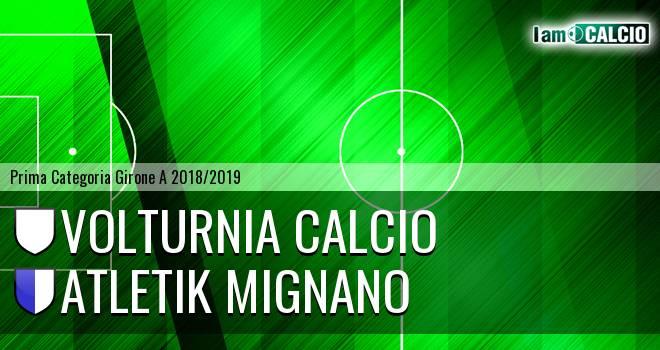 Volturnia Calcio - Atletik Mignano