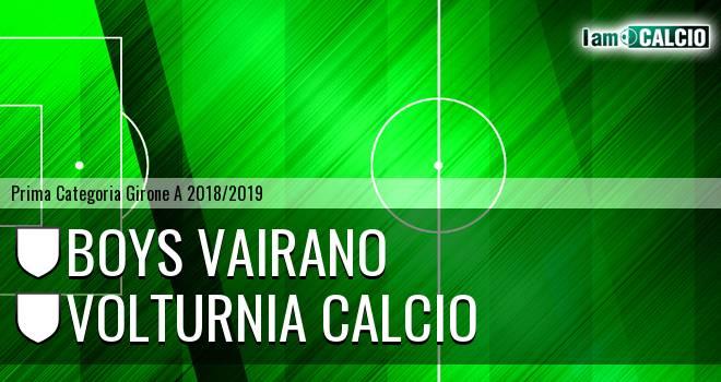 Boys Vairano - Volturnia Calcio