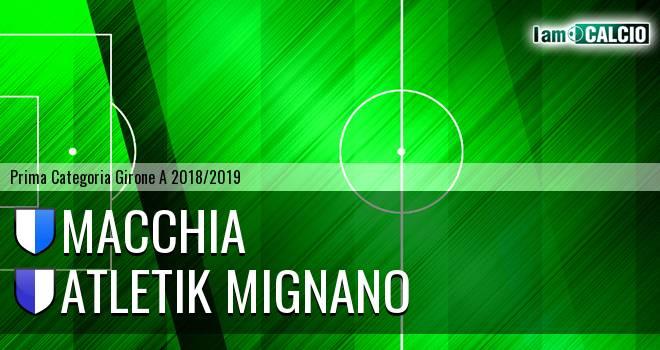 Macchia - Atletik Mignano