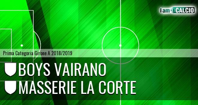 Boys Vairano - Masserie La Corte