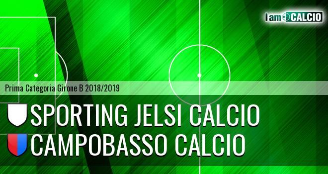 Sporting Jelsi Calcio - Campobasso Calcio