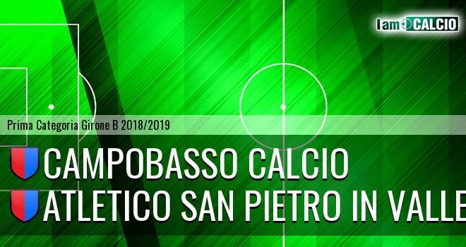 Atletico San Pietro in Valle - Audax Toro