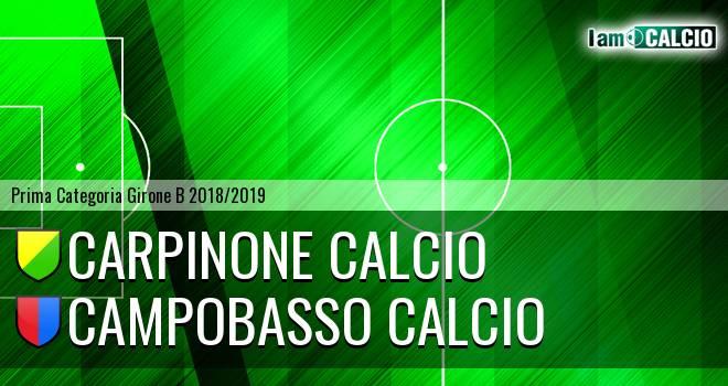 Carpinone Calcio - Campobasso Calcio