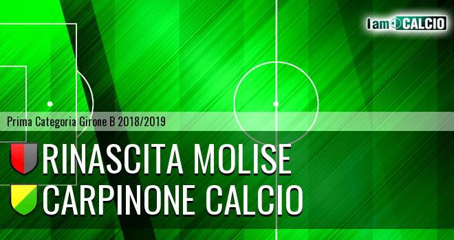Rinascita Molise - Carpinone Calcio