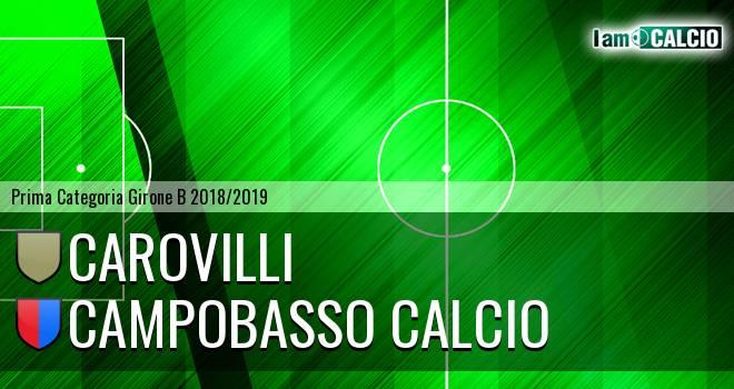 Macchia Valfortore - Carpinone Calcio