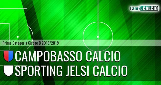 Campobasso Calcio - Sporting Jelsi Calcio