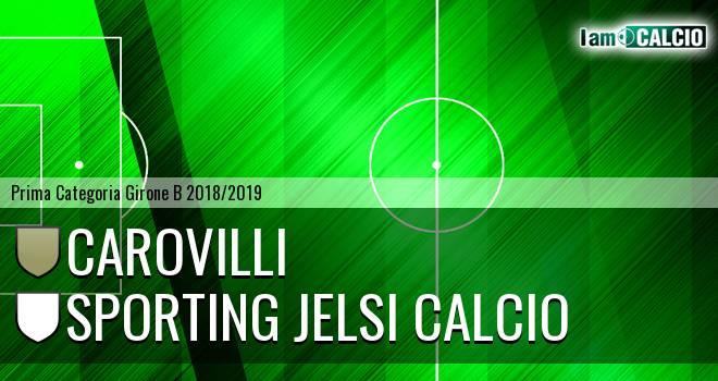 Carovilli - Sporting Jelsi Calcio