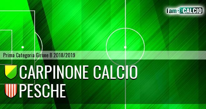 Carpinone Calcio - Pesche