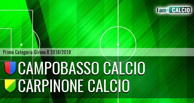 Campobasso Calcio - Carpinone Calcio