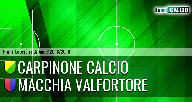 Carpinone Calcio - Quartiere Campobasso Nord