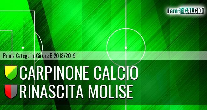 Carpinone Calcio - Rinascita Molise