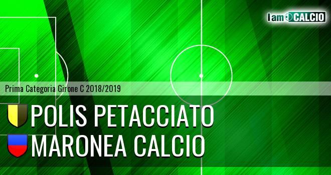 Polis Petacciato - Maronea Calcio